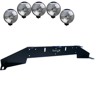 Auxillary Light Bracket, 5 lights  ₒᵒᵒᵒₒ (max 225mm)