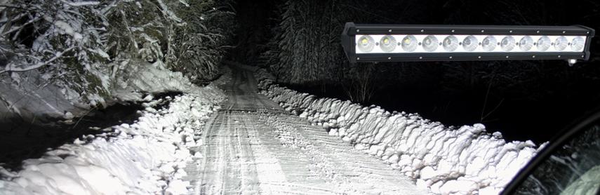 Avelux LED Extraljusramp 120W